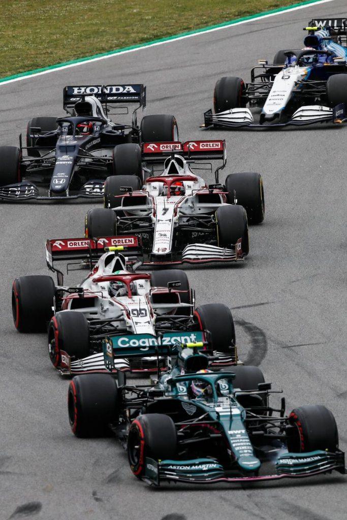 GP F1 Barcelone Espagne 2021
