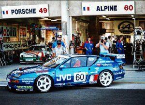 Le grand retour d'Alpine au Mans avec un... privé ! Alpine A610 de Patrick Legeay, ancien animateur des courses Alpine V6 Turbo Europa Cup