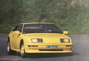 Alpine GT V6 Turbo (GTA) Has Prestige - 265 ch