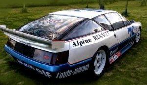 Alpine V6 Turbo Production 86 ou le rêve un peu fou d'Alain Serpaggi pour faire briller Alpine sur les circuits...