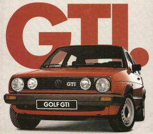 Volkswagen Golf 2 GTI (1984)