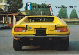 de Tomaso Groupe 3 (1972)