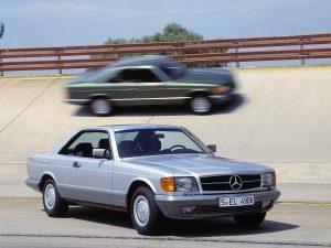 Mercedes-Benz 500 SEC W126 (1981)