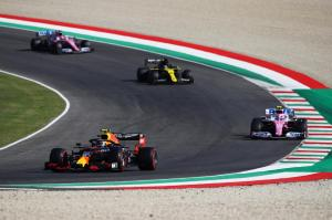 307941 Albon Takes His First Formula 1 Podium at Mugello