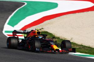 307942 Albon Takes His First Formula 1 Podium at Mugello