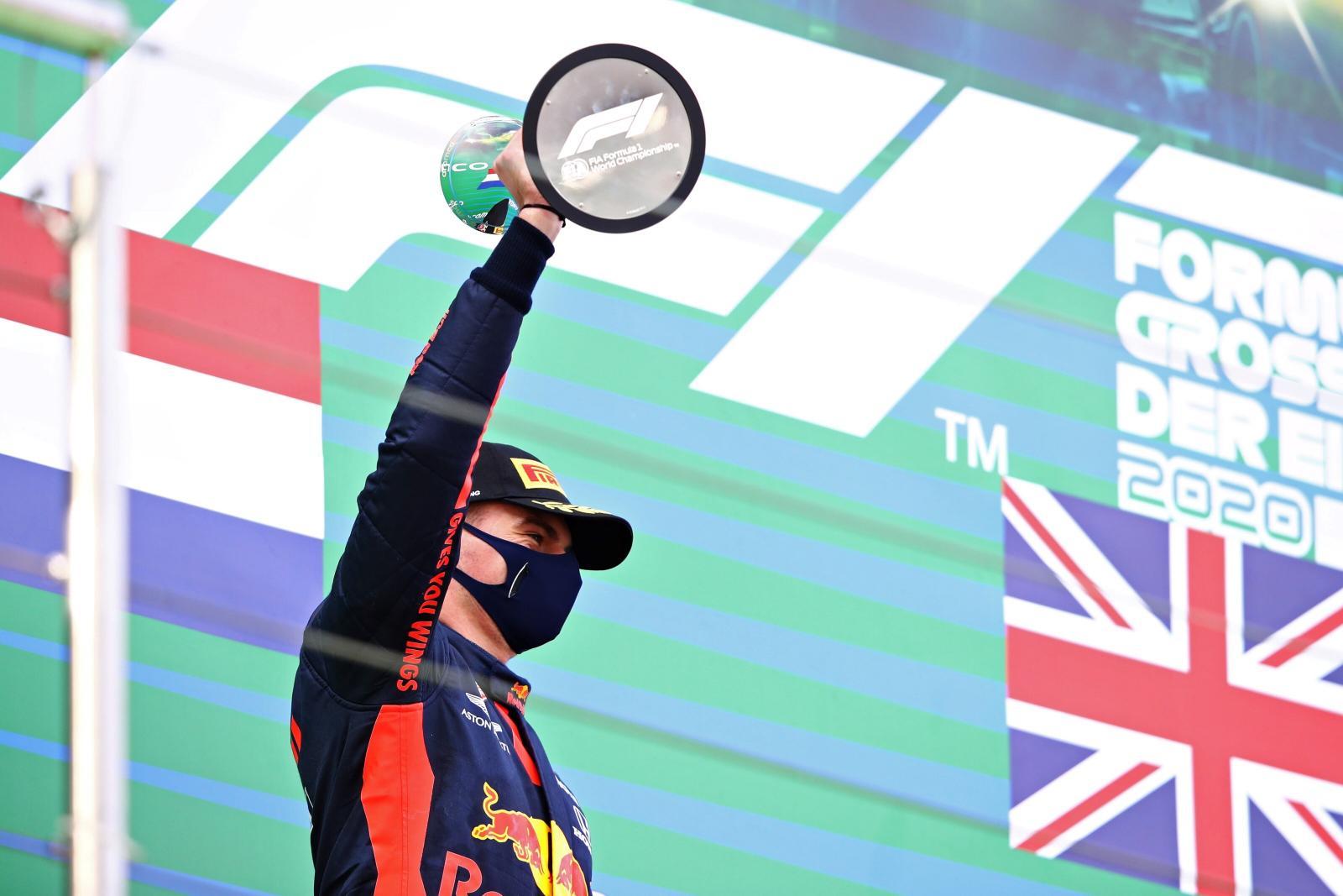 310046 Eight Podium Of The Season For Verstappen