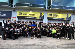 Podium pour Renault DP World F1 Team et Daniel Ricciardo