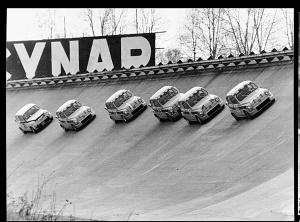 Abarth 1000 alla gara '4 Ore del Jolly Club' Monza 1966