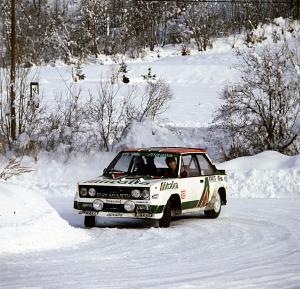 Fiat Abarth131 Rally
