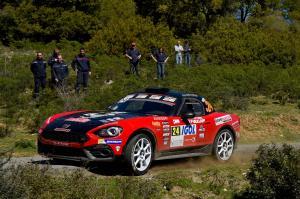Raphael Astier FRAbarth 124 Rally team Milano Racing - Tour de Corse 42019