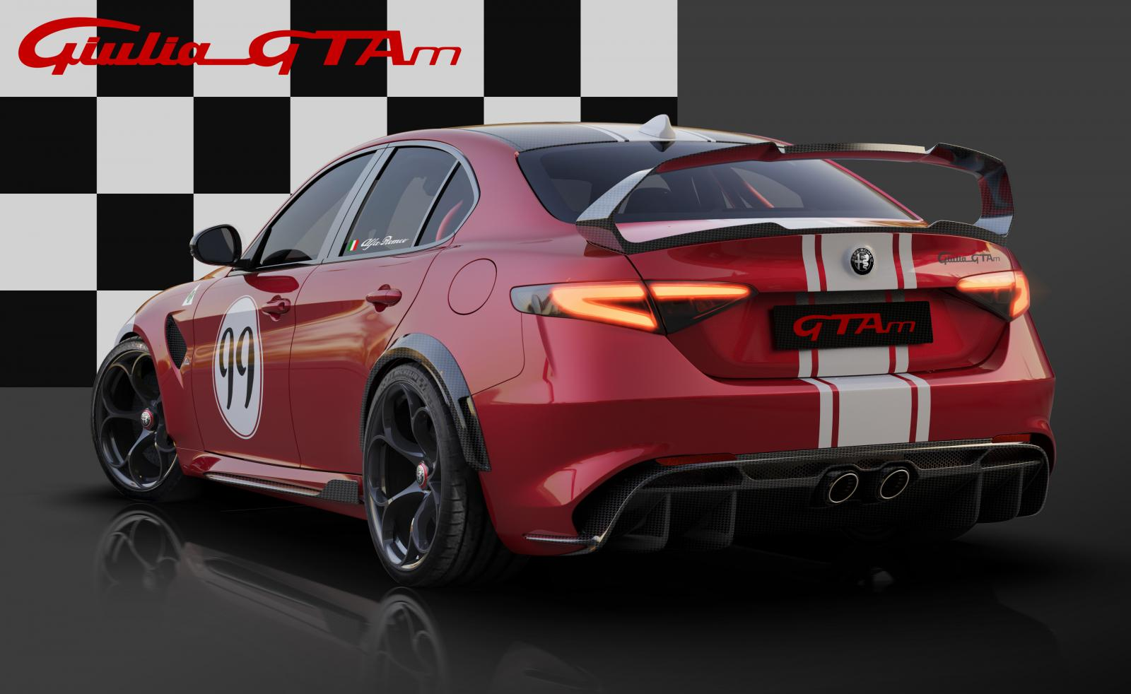 15 Alfa Romeo Giulia GTA dedicated Livery