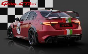 19 Alfa Romeo Giulia GTA dedicated Livery