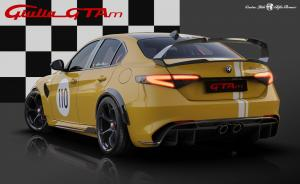 21 Alfa Romeo Giulia GTA dedicated Livery