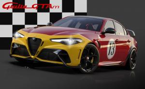 22 Alfa Romeo Giulia GTA dedicated Livery
