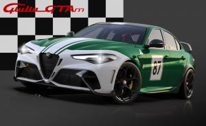 25 Alfa Romeo Giulia GTA dedicated Livery