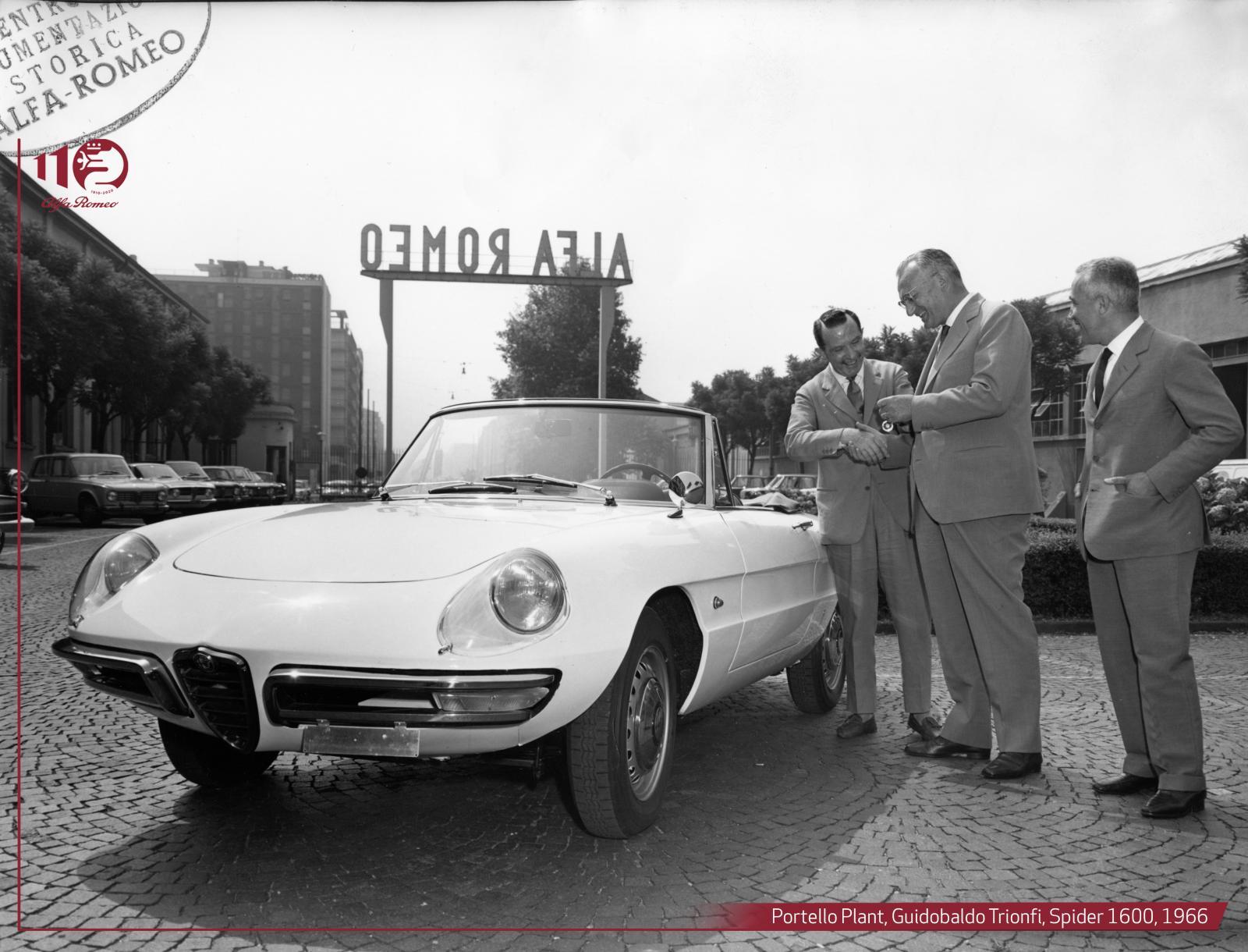 Portello Plant-Guidobaldo-Trionfi,-Spider 1600,-1966 ENG