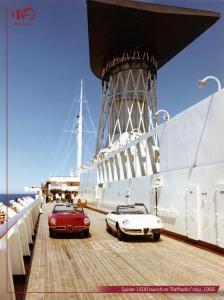 Spider-1600 launch on Raffaello ship-1966 ENG