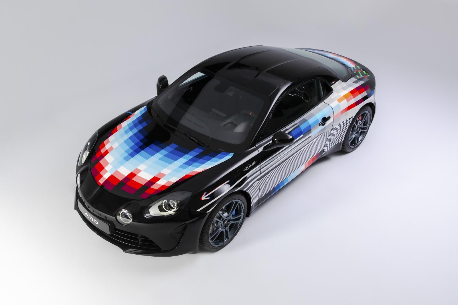 2021 - Alpine A110 x Felipe Pantone-5