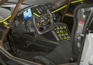 R8 LMS GT2 cockpit