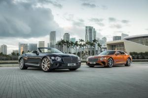 Bentley Continentle GT & GT Convertible V8 Hero 1