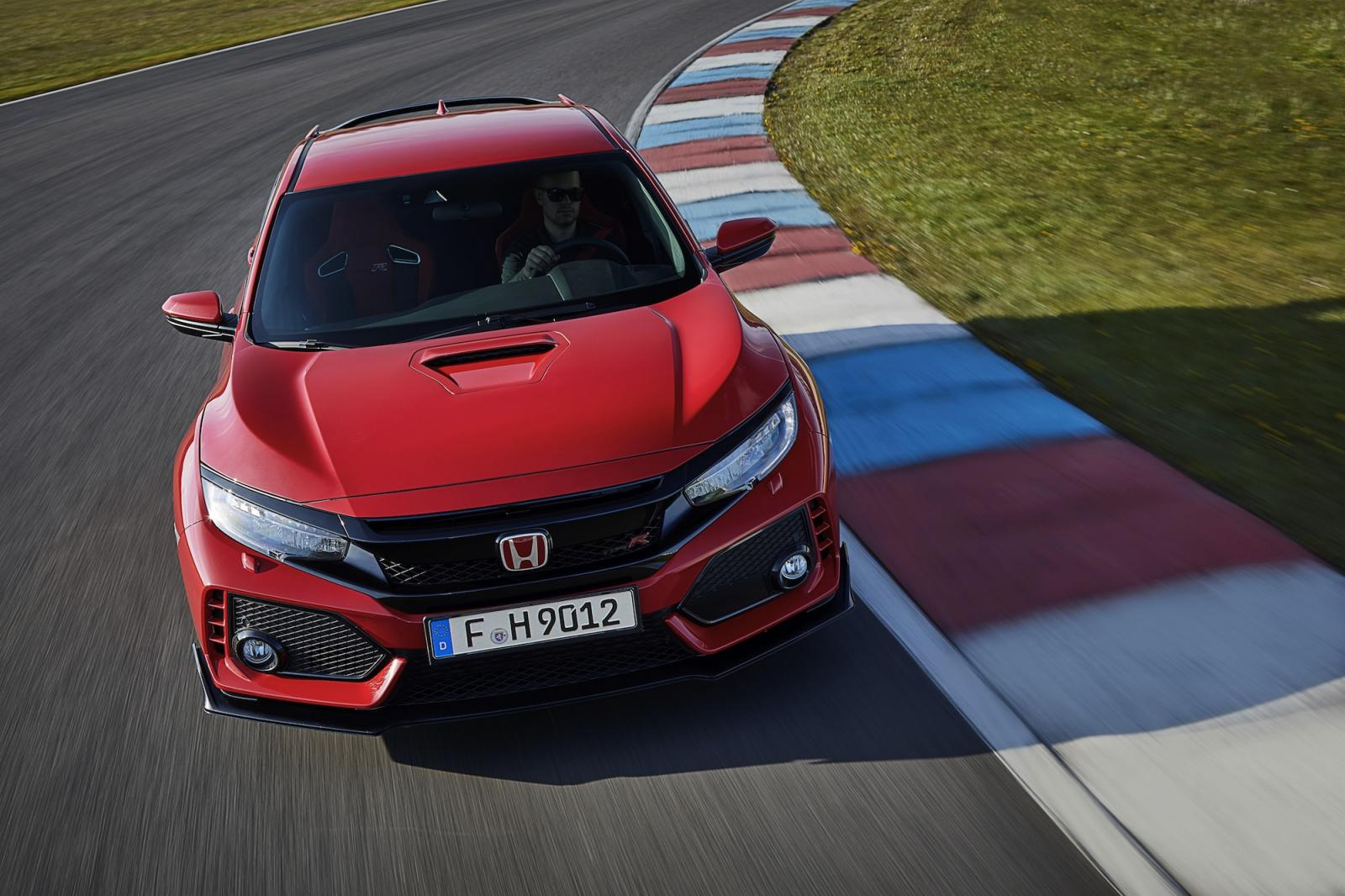 nouvelle honda civic type r 2017 -