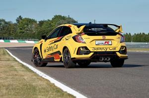 303938 Honda Civic Type R Limited Edition is the 2020 WTCR Official Safety Car