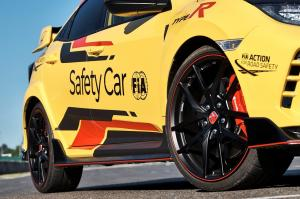 303942 Honda Civic Type R Limited Edition is the 2020 WTCR Official Safety Car