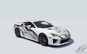Lexus LFA Art Car Spa Francorchamps 2018