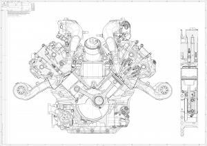 Maserati NettunoEngineSketch