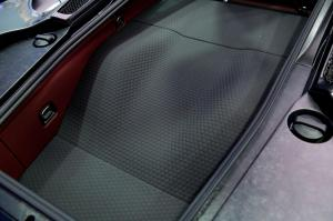 McLaren GT SuperFabric applied in luggage bay