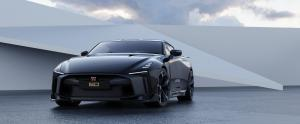 Nissan GT-R50 by Italdesign production rendering Black FR