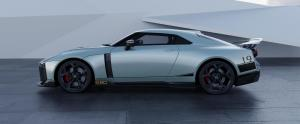 Nissan GT-R50 by Italdesign production rendering Mint SIDE