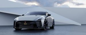 Nissan GT-R50 by Italdesign production rendering Silver FR