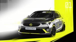 Opel Corsa-e Rally Car 2019