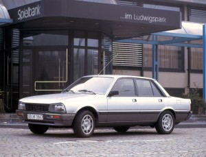 Peugeot 505 Turbo Injection 180 ch