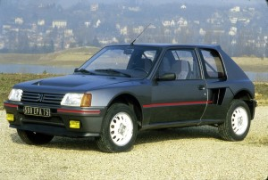 Peugeot 205 Turbo 16 200ex