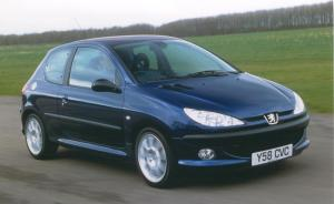 Peugeot 206 S16 Phase 2