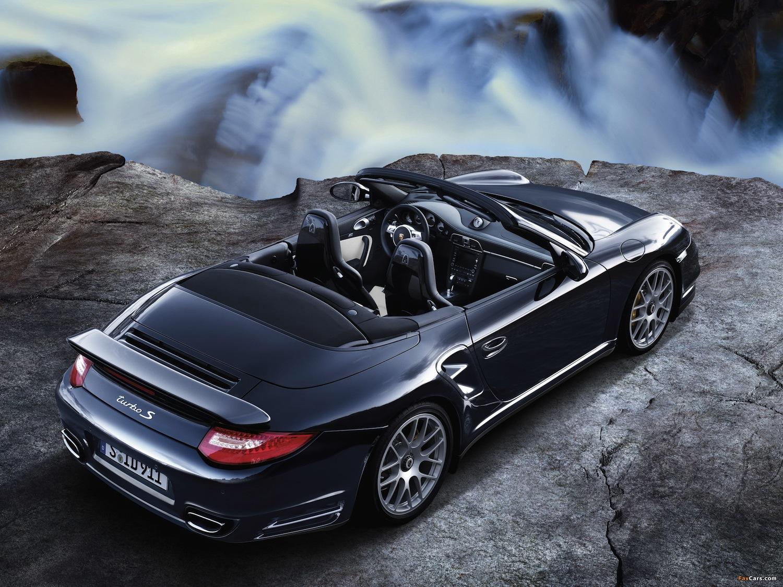 porsche 911 turbo s cabriolet 997. Black Bedroom Furniture Sets. Home Design Ideas