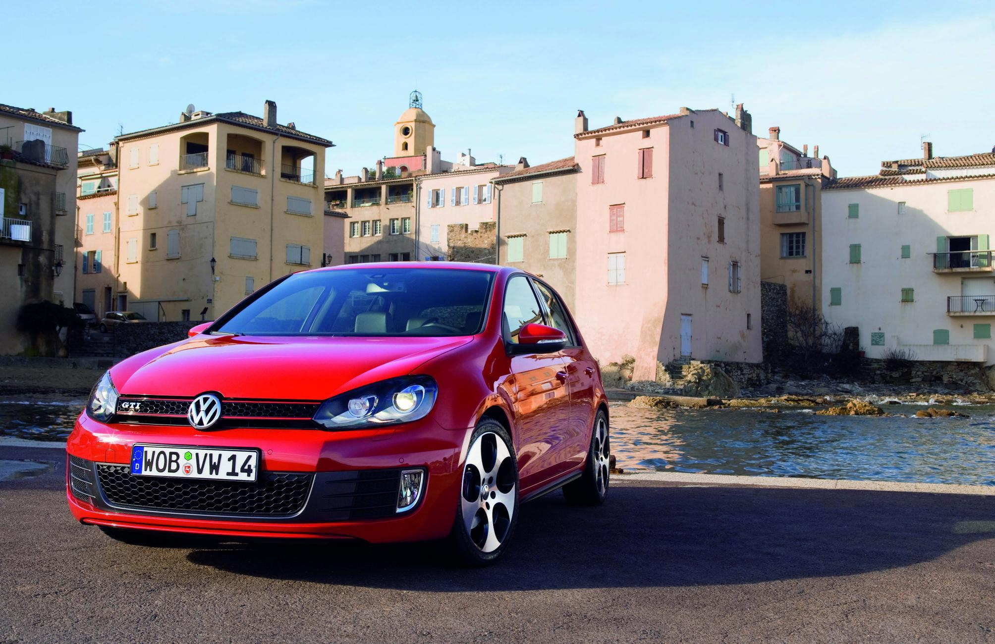 golf 6 rouge