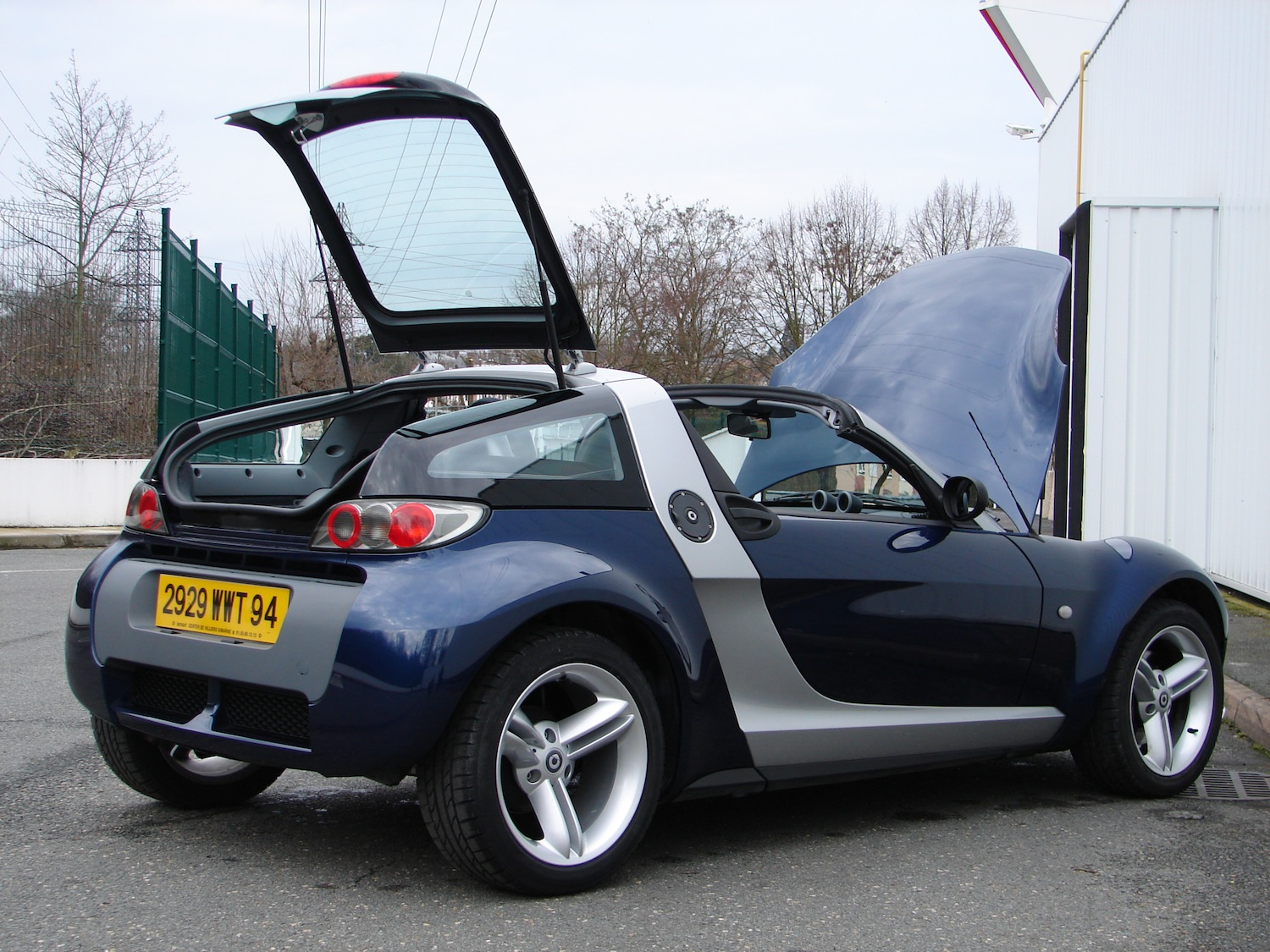 smart roadster coup 82 ch 60kw. Black Bedroom Furniture Sets. Home Design Ideas