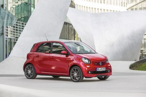 smart forfour Brabus W454